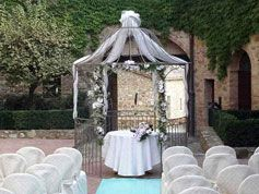 Tuscany Wedding Castle