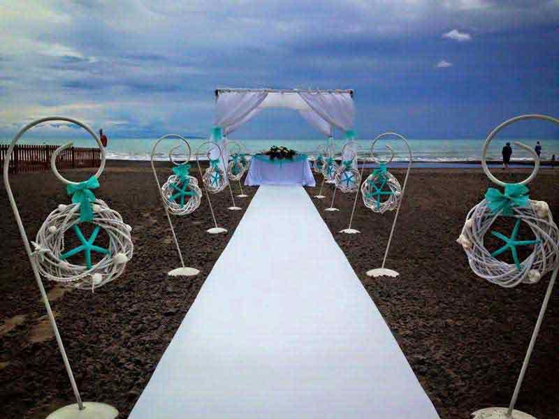 Tuscany Wedding Beach